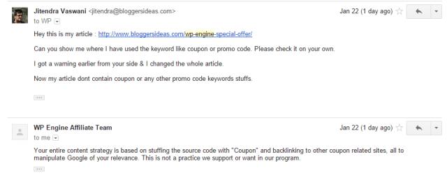 wpengine affiliate program fraud scam
