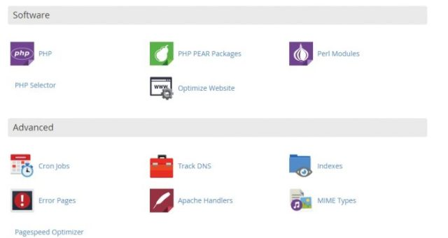Asmallorange cpanel overview 4
