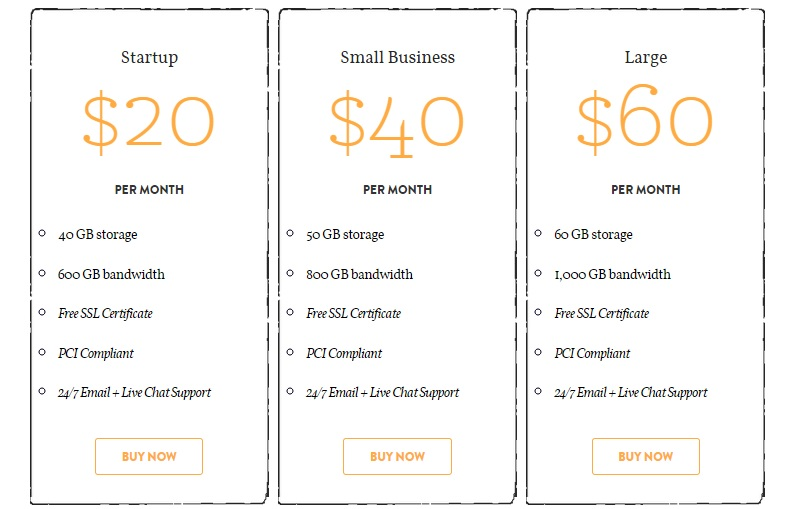 asmallorange business hosting plan
