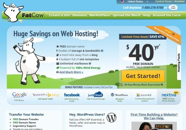 FatCow Hosting Service