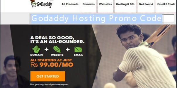 Godaddy Hosting Coupons code