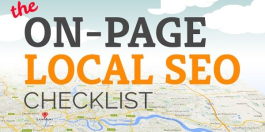 On-Page Local SEO techniques infographic