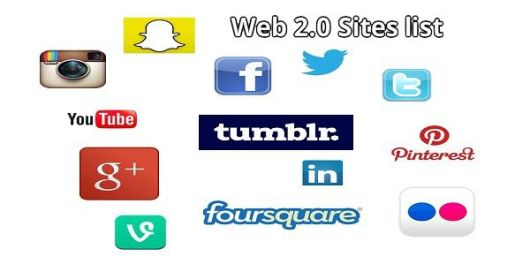 Top List of High PR Web 2.0 Sites