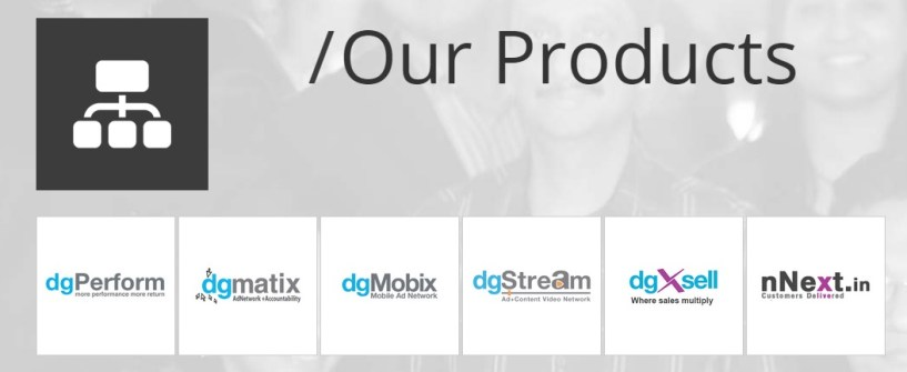 DGM Ad Network products