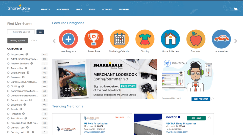 ShareAsale Affiliate Program: Review