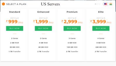 US Servers