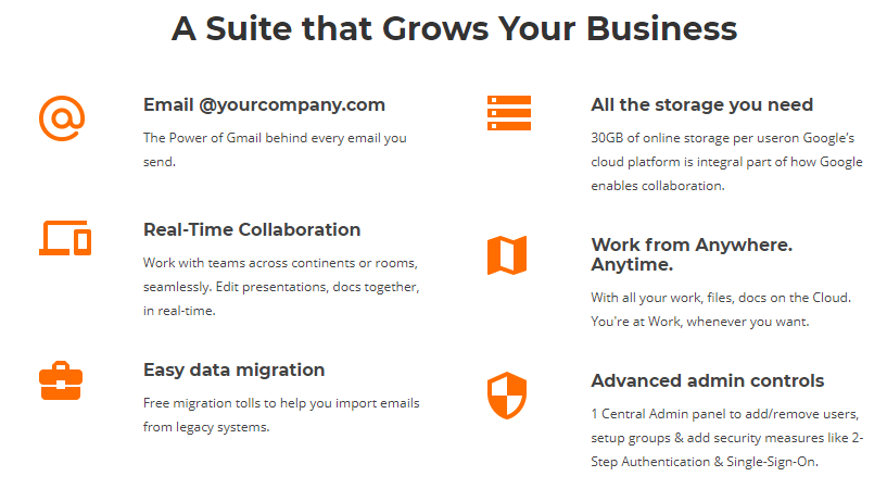 coupons for bigrock- G Suite