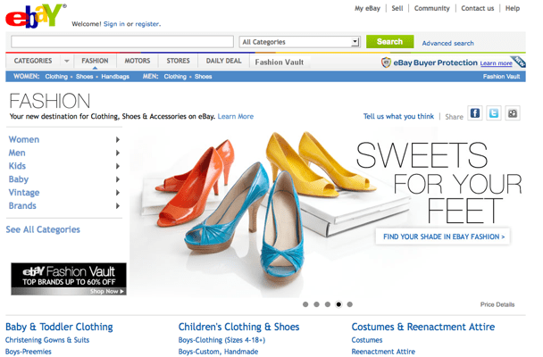 ebay-online sopping