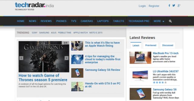 techradar - Best Tech Websites