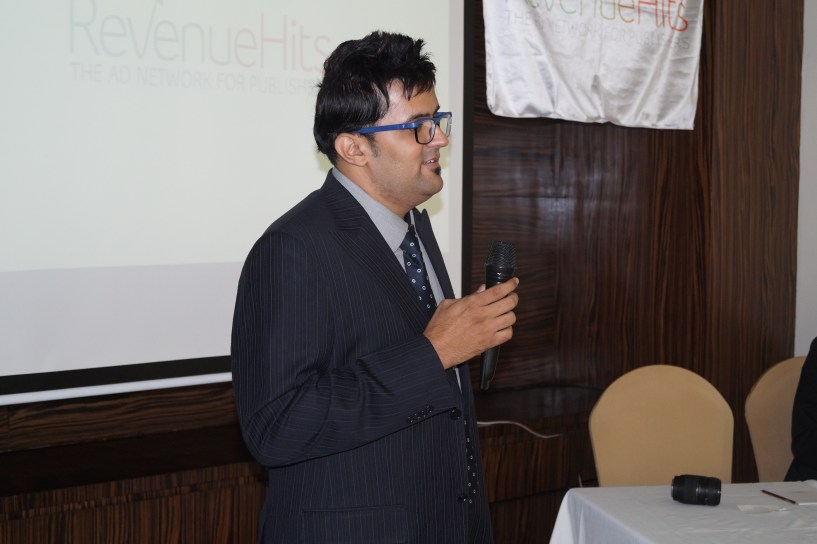 revenuehits ad network meet up delhi 2015