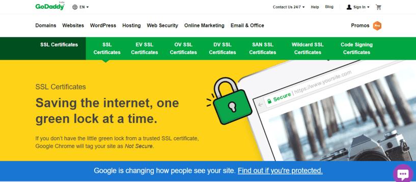 GoDaddy SSL Certificates Coupon codes promo codes - ssl certificate