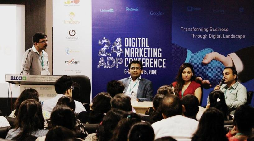 Pune 24adp first digital marketing conference 2015