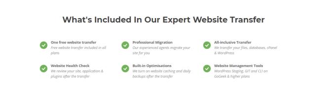 siteground- website transfer