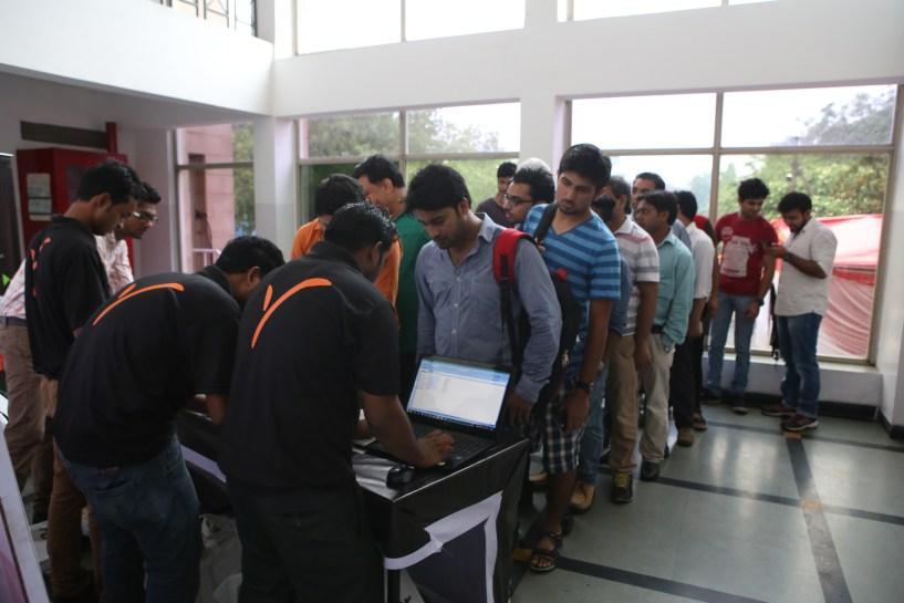 Folks at payoneer forum delhi India