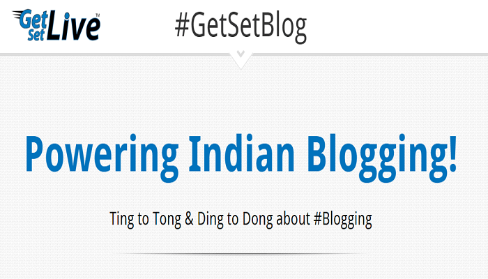 GetSetBlog   Ting to Tong   Ding to Dong about Blogging