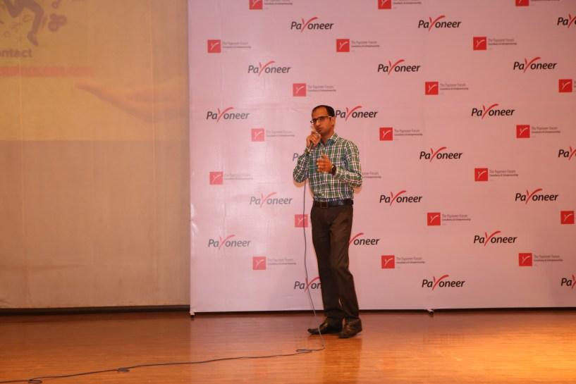 Kulwant Nagi at payoneer forum delhi India