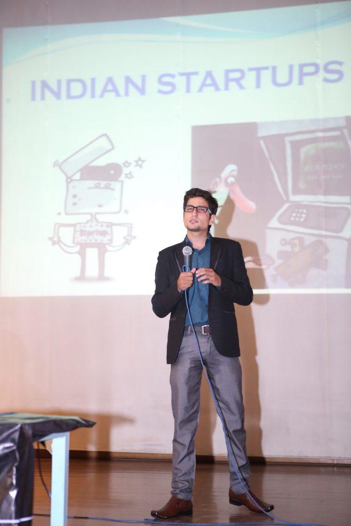 Mayank Wadhwa at payoneer forum delhi India