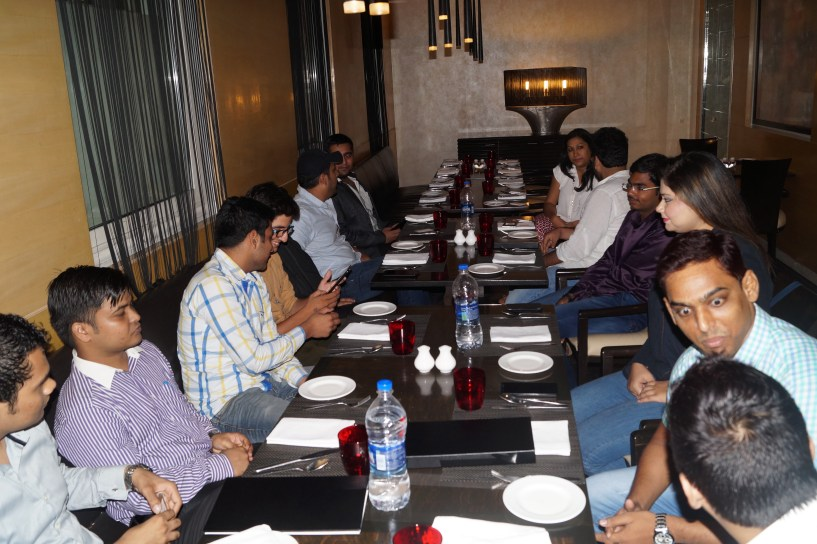 Payoneer Networking Dinner Delhi july 10th 2015 India marketers