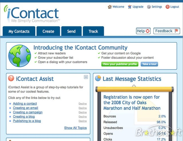 iContact Review - Email Marketing Provider
