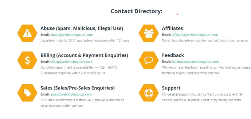 webhostingbuzz- contact