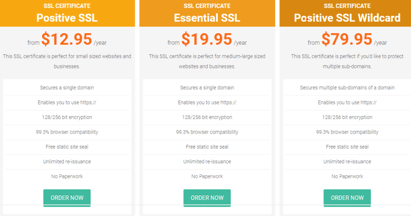webhostingbuzz- ssl certificates
