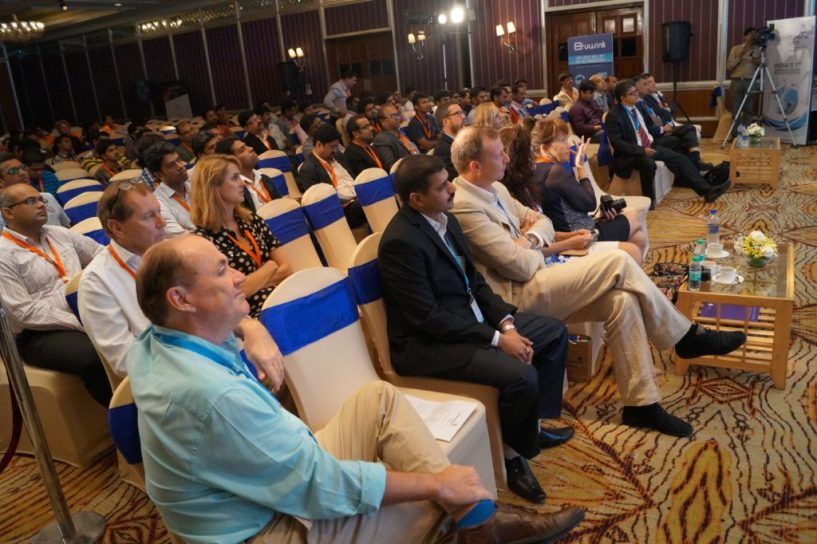 Domain X conference house full at Bangalore