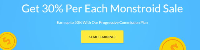 Monstroid themes affiliate