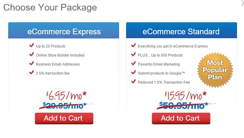 Web.com Ecommerce Website Design
