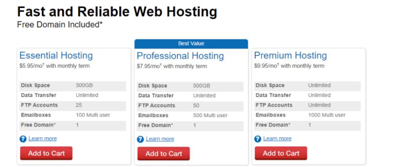 Web.com Web Hosting