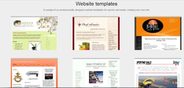 Yahoo hosting review templates
