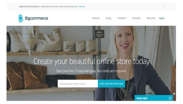 Shopify Alternatives- Bigcommerce