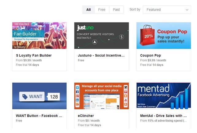 Bigcommerce review social media