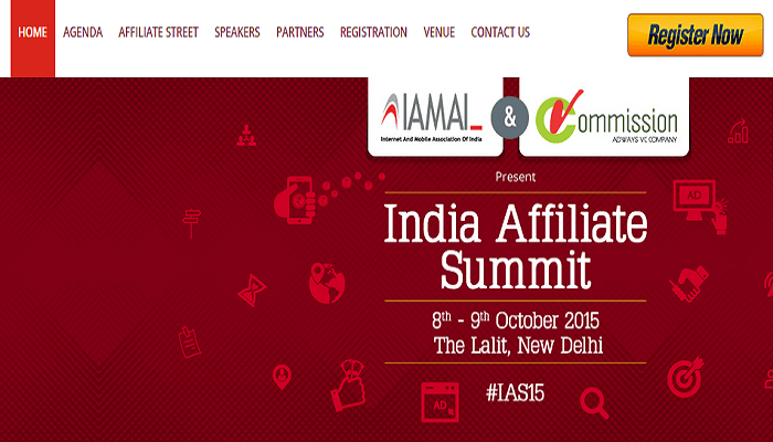 BloggersIdeas Partners With India Affiliate Summit 2015
