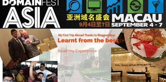 DomainFest Asia at Macau 2015 Feature