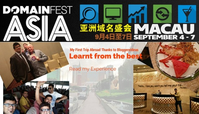 DomainFest Asia at Macau 2015 Feature