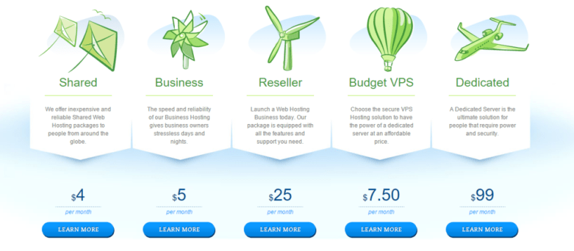 Hostwinds Web Hosting Services