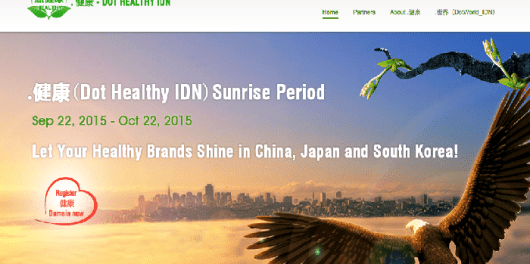 Dot Healthy IDN Registry