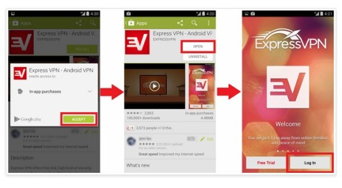 ExpressVPN review app