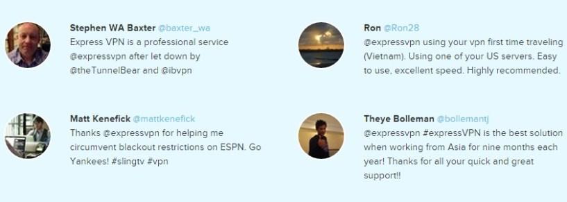 ExpressVPN review feedback