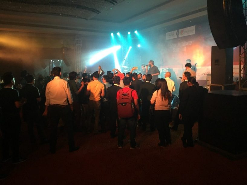 India Affiliate Summit 2015 Delhi Agnee Band