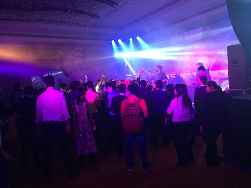 India Affiliate Summit 2015 Delhi Agnee Band performing live