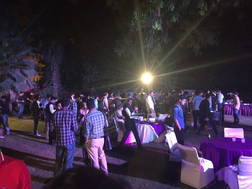 Partying at digital conclave