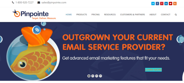 Pinpointe Email Marketing Service