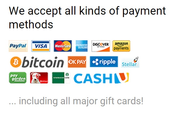 Private Internet Access payment options