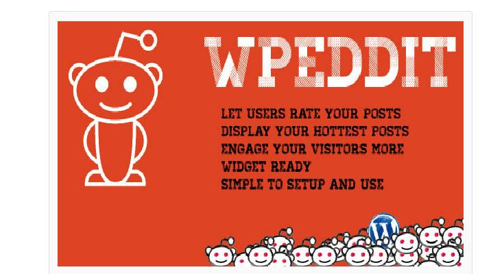 WPeddit Reddit for WordPress