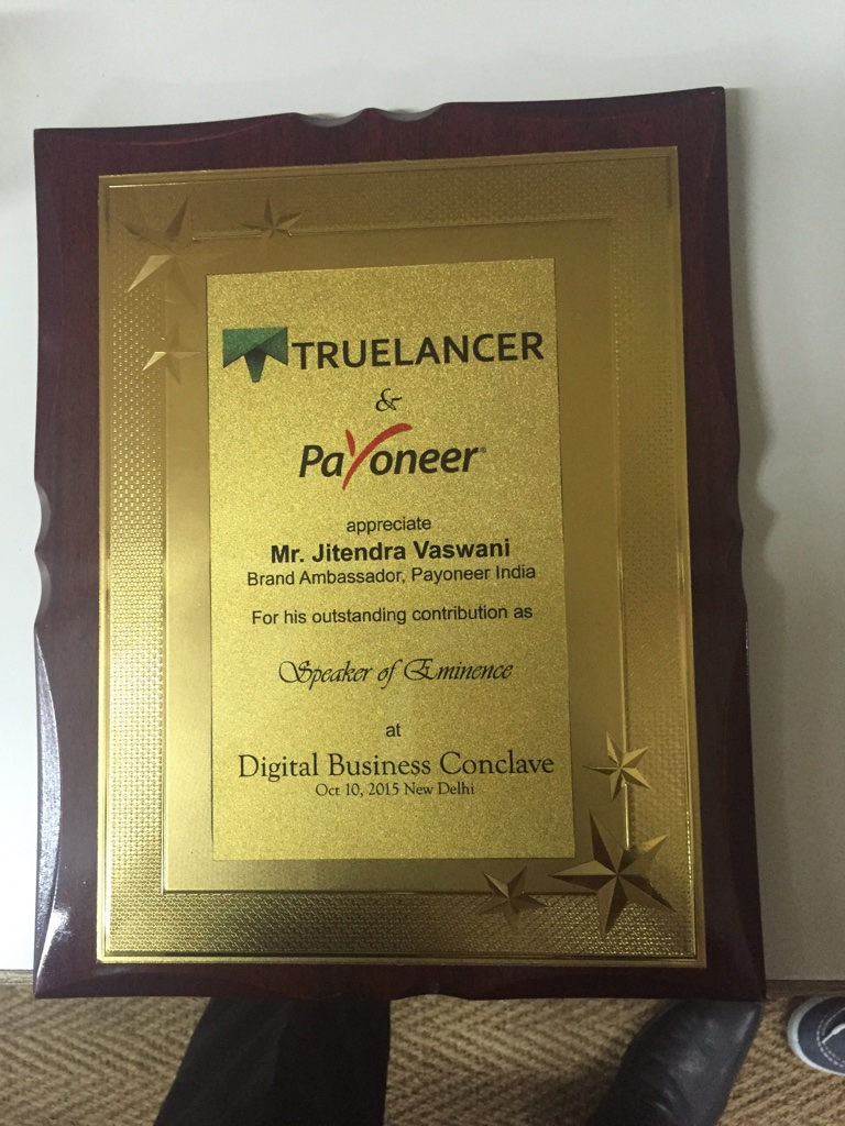 jitendra vaswani award
