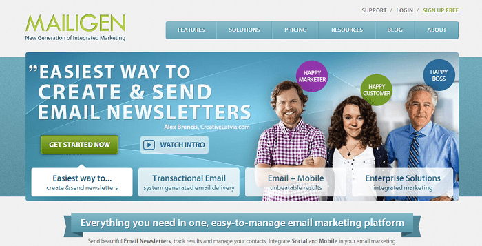 mailigen - Mail Email Marketing