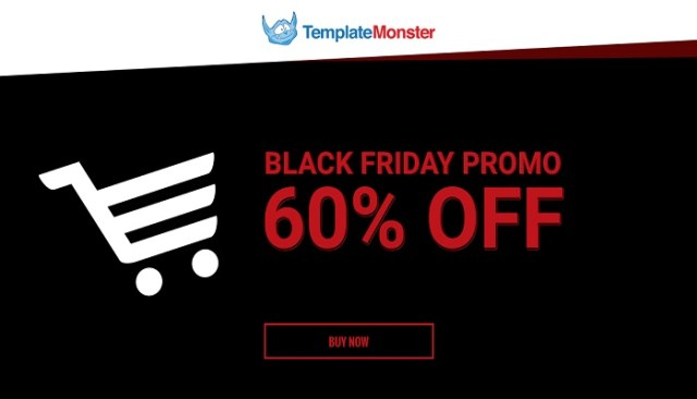 Black Friday template Monster deals