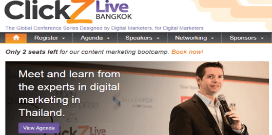 ClickZ Live Bangkok November