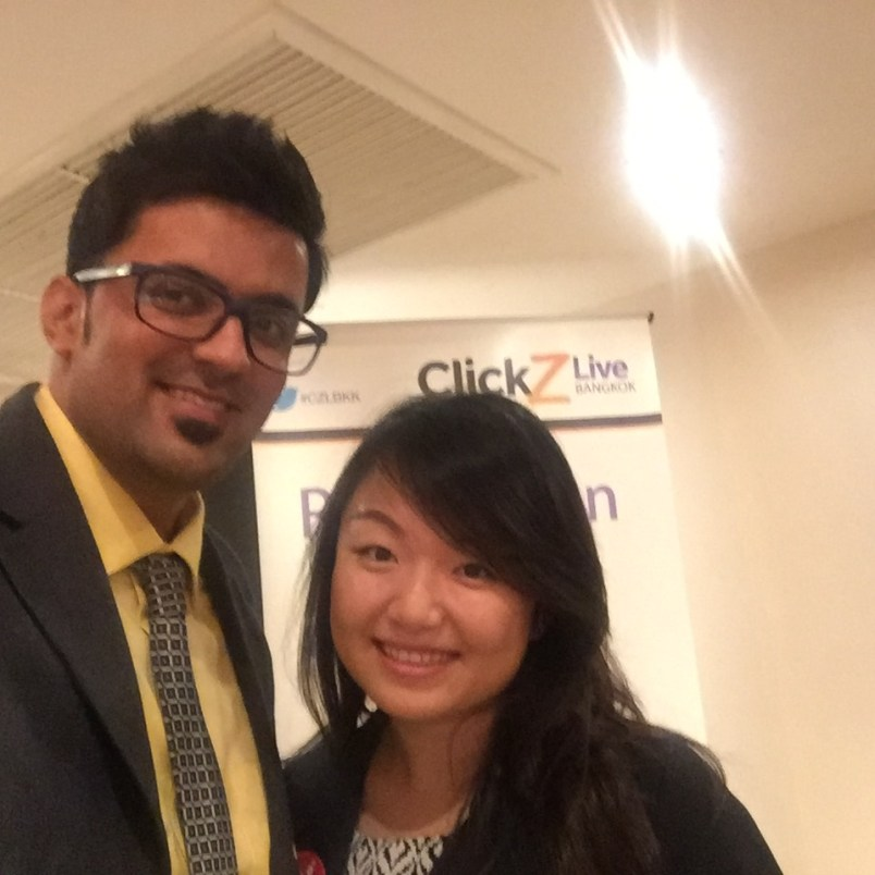 Clickz live bangkok 2015 meeting stephanie zhu